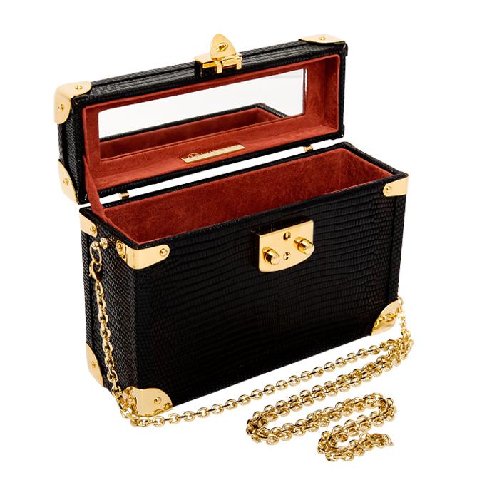 Luis Negri box bag Timeless black