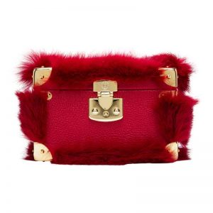 luis negri vues de montmartre box bag red