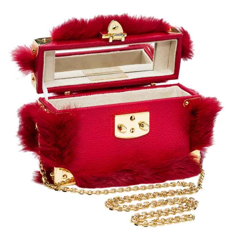 luis negri Vues de Montmartrebox bag red open