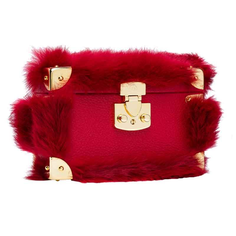 luis negrivues de montmartrebox bag red sidewise